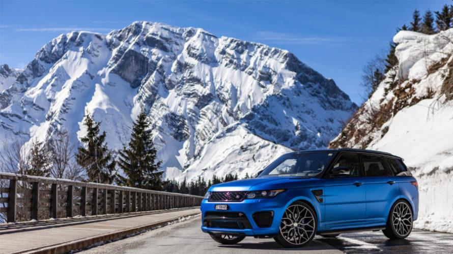 Range Rover SVR impianto audison