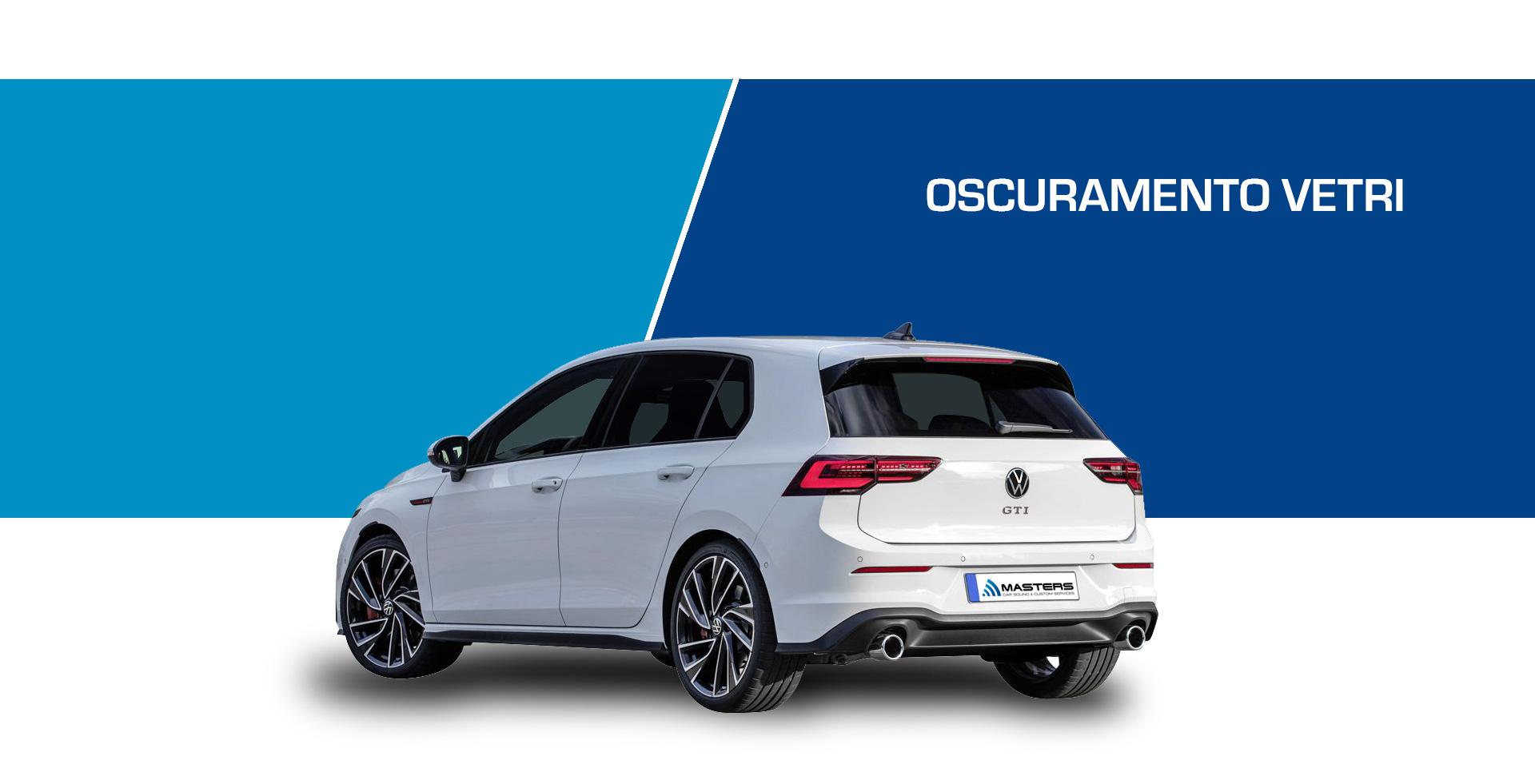 Oscuramento vetri Volkswagen Golf GTI 2020