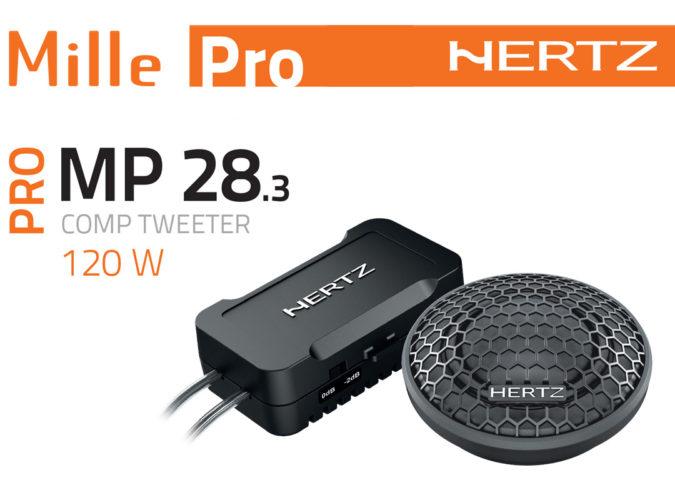 Tweeter Hertz mille pro MP28.3